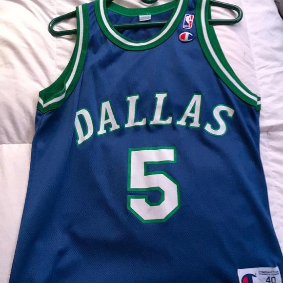 76d634459f0 Champion Other - Dallas Mavericks Jason Kidd Champion Jersey